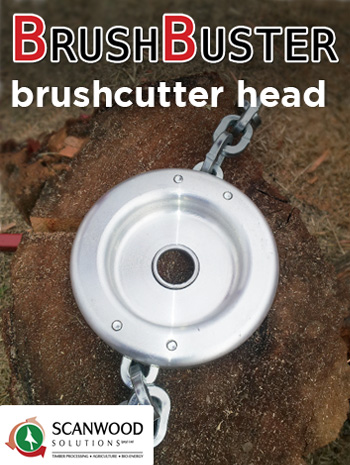 Brushcutter heads sold by Scanwood Solutions in Southern Africa