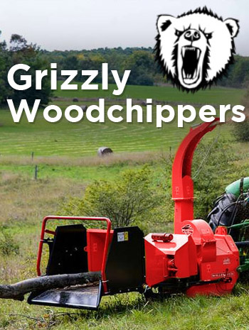 Grizzly Wood Chipper foto sold in Southern Africa