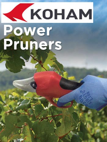 Electric pruning shears are professional toos specifically designed for pruning trees, shrubs and vines.