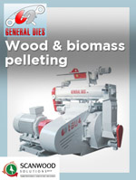 Scanwood Solutions offers complete plants and pelletting lines for the treatment and the production of wood saw dust or biomass pellet.